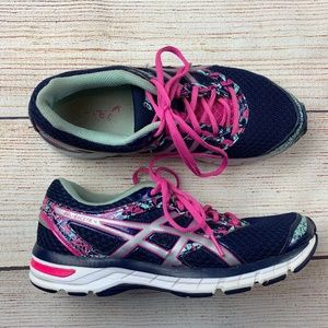 Asics womens Gel Excite 4 size 10 42 Navy Pink LN